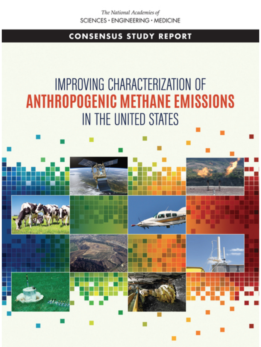 Cover for Improving Characterization of Anthropogenic Methane Emissions in the United States
