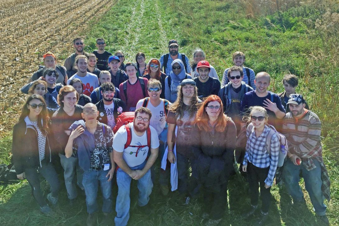 Soils class photo from Fermilab