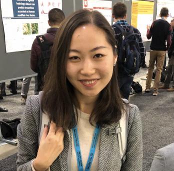 Headshot of Shuyu Chang at a conference